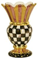 Mackenzie Childs MacKenzie-Childs Courtly Checks Great Vase