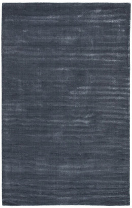 Jaipur Living Basis Handmade Solid Dark Blue Area Rug, 9'x12'