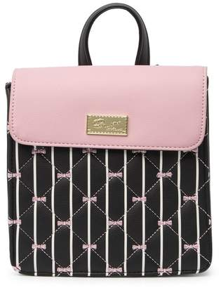 Betsey Johnson LUV BETSEY BY Stacy Quilted Mini Backpack