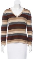Prada Cashmere Striped Sweater