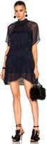 No.21 No. 21 Sheer Lace Mini Dress