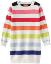 Joe Fresh Toddler Girls' Stripe Sweater Dress, Cream (Size 5)