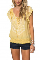 O'Neill Sunshine Embroidered Blouse