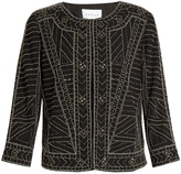 Velvet by Graham & Spencer Magali embellished jacket