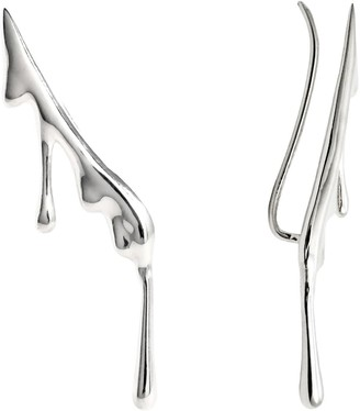 Marie June Jewelry Dripping Sterling Silver Ear Climber