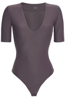 Alix Ludlow Stretch-jersey Thong Bodysuit