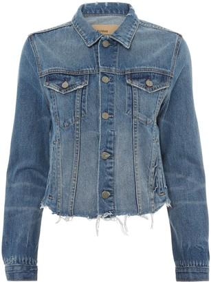 GRLFRND Cara Cropped Denim Jacket