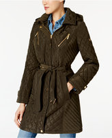 MICHAEL Michael Kors Water-Resistant Quilted Coat