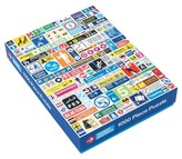 Chronicle Books Transit Graphics 1000 Piece Puzzle