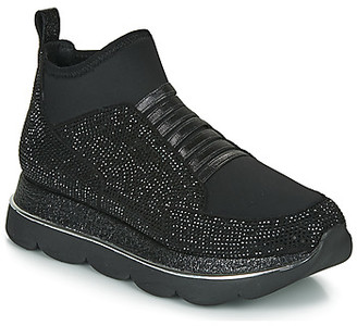 CAFe'NOIR BLANDI women's Shoes (High-top Trainers) in Black
