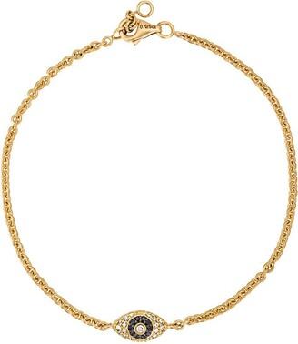 ALINKA Evil Eye 18kt gold and diamond bracelet