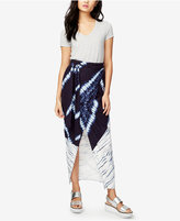 Rachel Roy Tie-Dye Faux-Wrap Skirt, Only at Macy's