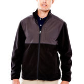 Mens Black Fleece Jacket - ShopStyle