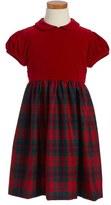 Oscar de la Renta Plaid Party Dress (Little Girls & Big Girls)