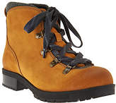 Clarks As Is Leather Water Resistant Hiking Boots - Faralyn Alpha