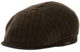 Wigens Tonal Striped Contemporary Newsboy Hat