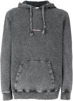 Saint Laurent distressed faded hoodie