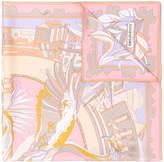 Emilio Pucci printed design scarf