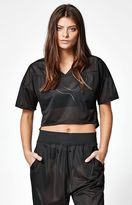 Puma Kylie Mesh Cropped Top