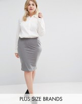 Junarose Jersey Pencil Skirt