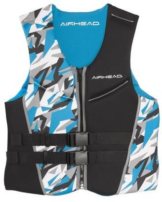 Blue Life Kwik Tek Airhead Mens XL Camo Cool Neolite Kwik-Dry Vest Jacket   15002-11-B-BL