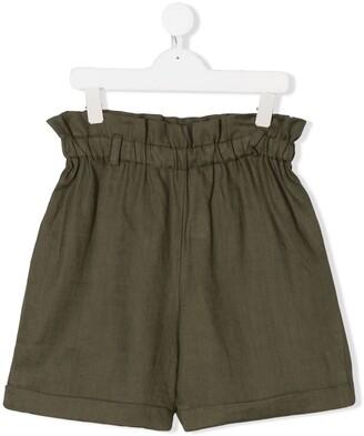La Stupenderia Paperbag-Waist Shorts