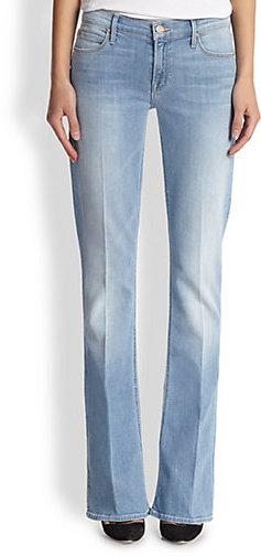 Mother Runway Skinny Bootcut Jeans