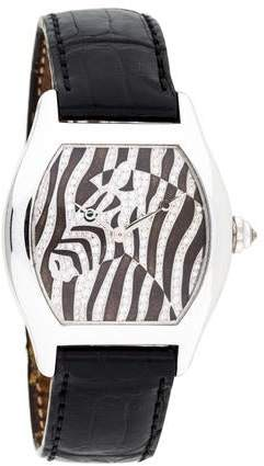 Cartier Tortue Zebra Watch