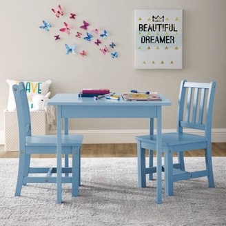 Better Homes & Gardens Better Homes and Gardens Paisley Kids Table and Chairs Play Set, Multiple Colors