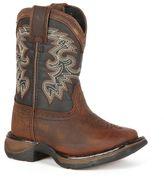 Durango Lil Boys' Full Grain Saddle Western Boots