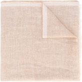 Ermenegildo Zegna frayed scarf - men - Silk/Linen/Flax/Cashmere - One Size