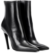 Balenciaga Knife leather ankle boots