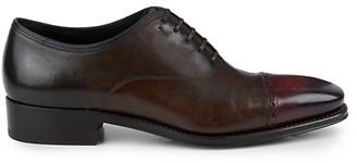 Salvatore Ferragamo Limited-Edition Gennaro Leather Cap-Toe Oxfords