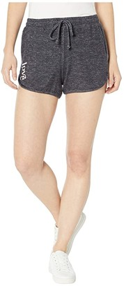 good hYOUman Raven Love Shorts (Navy Pel) Women's Shorts
