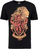 Logoshirt Harry Potter Gryffindor Logo Print Tshirt Black