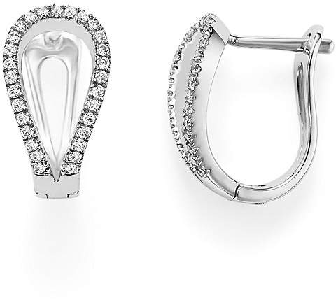 Bloomingdale's Diamond Horseshoe Earrings in 14K White Gold, .50 ct. t.w.