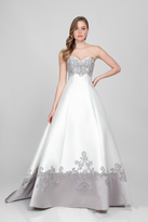 Terani Couture Beaded Sweetheart A-line Gown 1721E4122