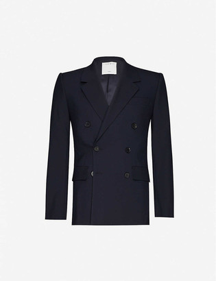 Sandro Double-breasted wool blazer