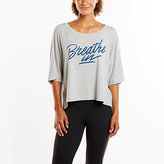 Lucy Graphic Tee - Breathe In