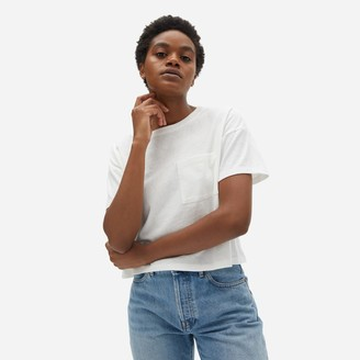 Everlane The ReCotton Cropped Pocket Tee