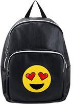 OLIVIA MILLER Olivia Miller Heart Eyes Emoji Backpack