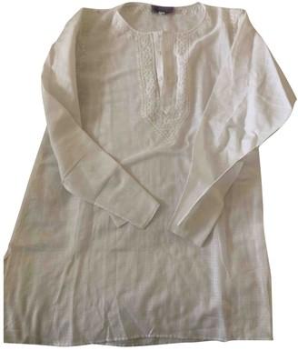 Calypso St. Barth White Cotton Top for Women