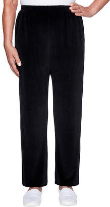 Alfred Dunner Bright Idea Womens Straight Pull-On Pants