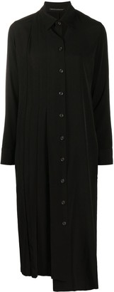 Yohji Yamamoto Cut-Out Shirt Dress