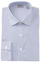 Kenneth Cole Reaction Check Slim Fit Stretch Dress Shirt