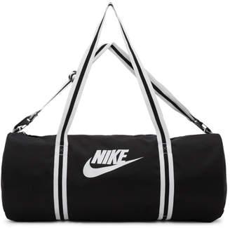 Nike Black Heritage Gym Bag