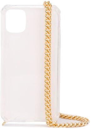 Rosantica chain-embellished iPhone 11 Pro case