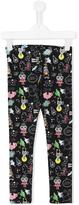 Fendi multi print leggings - kids - Cotton/Spandex/Elastane - 2 yrs