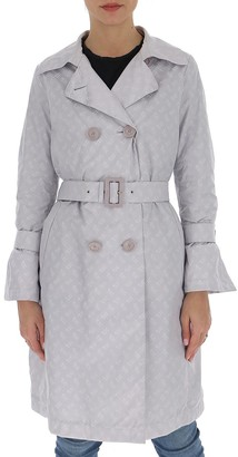 Herno Monogram Belted Trench Coat
