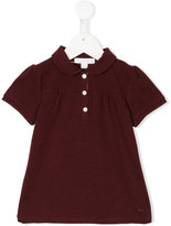 Burberry ruched polo shirt